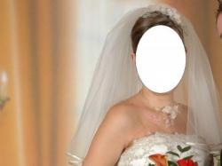 Suknia ślubna ecru rozm.38, gorset + spódnica