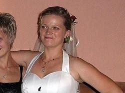 suknia ślubna ecru rozm. 42-44