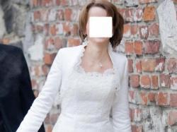 Suknia ślubna, ecru, rozmiar 36, 160 cm + 5 cm obcas