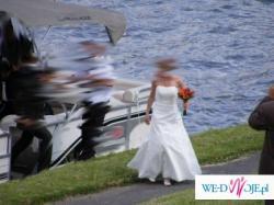 Śuknia Ślubna ecru rozmiar 36