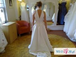 suknia ślubna ecru z salonu w anglii