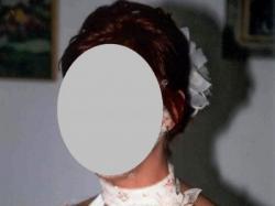 Suknia ślubna Ecru  z szalem na ramiona