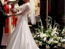 Suknia ślubna Eddy K AK24 Ivory 38 kolekcja 2011 kupiona w salonie NICOLE