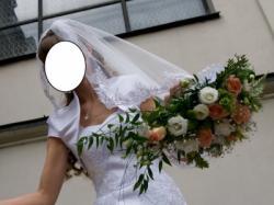 Suknia Ślubna Ederne firmy Nabla roz. 38 +gratis welon, buty