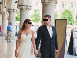 Suknia ślubna- elegancka, prześliczna-  Kraków, Rzeszów, Jarosław