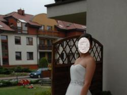 Suknia ślubna Elixir rozm 36/38 bolerko i welon gratis!!!