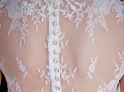 Suknia ślubna Elizabeth passion E-2584T- koronkowe plecy