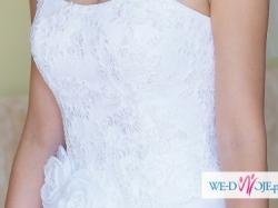 Suknia ślubna ELIZABETH PASSION E-2838 rozmiar 36