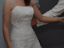 suknia ślubna elizabeth passion z trenem