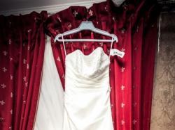 Suknia ślubna Ellie Verise,kolor ivory