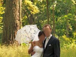 Suknia ślubna Emfis biała WARSZAWA