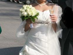 ** suknia ślubna Emmi Mariage 36/38 ecru **