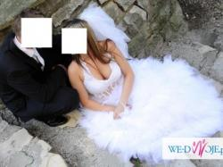 suknia ślubna emmi mariage paradise odpinany doł