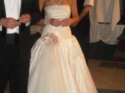 Suknia ślubna Euforia Angel 36-38 ecru
