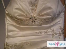 "Suknia ślubna ""EVITA""-model:Raya 062-rozmiar 36 SUPER CENA!!!"