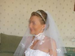 Suknia ślubna Farage Galaxy 3000 – śnieżnobiała