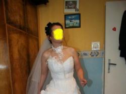 Suknia ślubna Farage Galaxy 4000 (biała rozm.38)