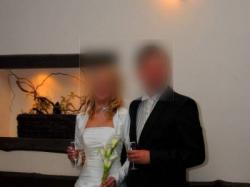 Suknia ślubna Farage, kolor: ecru