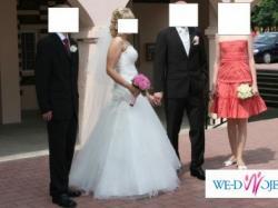 suknia ślubna FARAGE (model Silver's Shine kolekcja 2009)