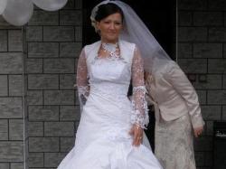 suknia ślubna FARRAGE model Malaga