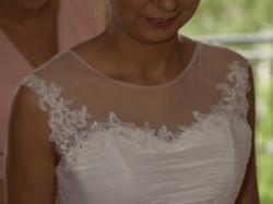 Suknia ślubna Firmy Afrodyta, model Iltis z kolekcji 2014