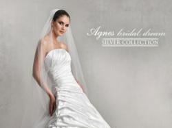 Suknia ślubna firmy AGNES biała, rozmiar 38, kujawsko pomorskie, Bydgoszcz