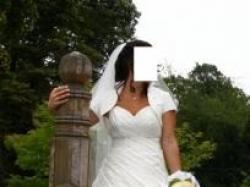 suknia ślubna firmy agora rozm. 38-40