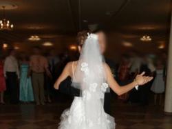 Suknia ślubna firmy Cymbeline, model Taylor Long (krótka/długa)
