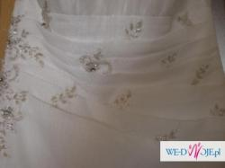 Suknia ślubna firmy Duber 931  rozmiar 38