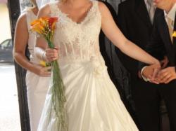 Suknia ślubna firmy Emmi Mariage model Salomea rozm.38