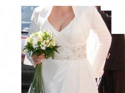 Suknia ślubna firmy Gala model Hollie + dodatki