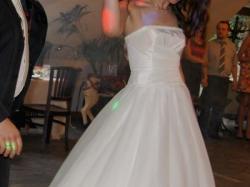 Suknia ślubna firmy Gala model Tarah, ecru, rozmiar 38