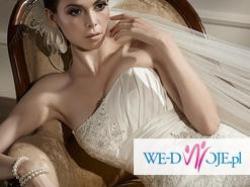 Suknia ślubna firmy Gala r. 38 piękna, koronkowa