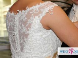 Suknia ślubna firmy Herms model Delori