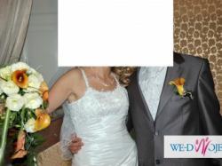 Suknia ślubna firmy KAREN model Elwira OKAZJA!
