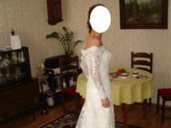 Suknia ślubna firmy Pronovias - model India z salonu Madonna