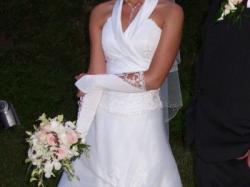 Suknia ślubna firmy Sarah, rozmiar 36, biała