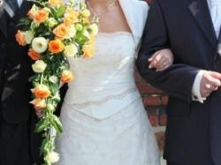 Suknia ślubna firmy Sophia, model SAMOS- ecru