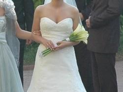 Suknia ślubna FLAMA z kolekcji La Sposa 2009 - r.34 -cena 2000zł
