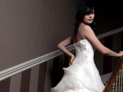Suknia ślubna francuska w idealnym stanie