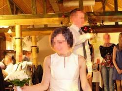 Suknia ślubna + futerko zimowe