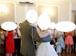 Suknia ślubna GALA ASTER krótka z odpinanym trenem + welon gratis