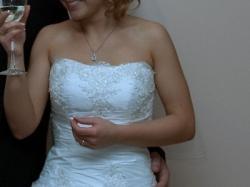 Suknia Ślubna GALA biała -r. 38 /164 - jak nowa