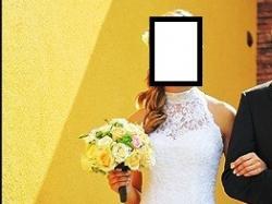 Suknia ślubna GALA ZETTI 2012 36 odkryte plecy