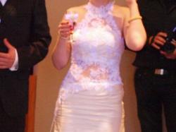 Suknia ślubna Galaxy New York/Sabine/salon Farage ecru 38 rybka/syrenka