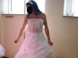 Suknia ślubna +garsonka