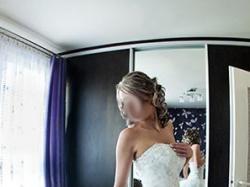 Suknia ślubna Gaylenne marki Herm's