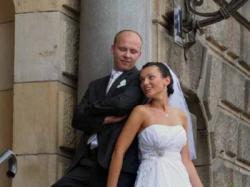 suknia ślubna gina kolekcja ms moda 2010 rozmiar 38