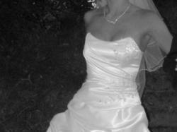 Suknia ślubna Giselle z wiązanym gorsetem