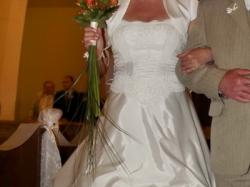 Suknia ślubna - gorset + spódnica